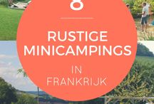 Rustic camping grounds in France