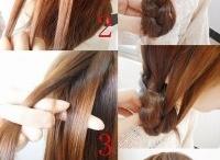 hair tutorial / by sam