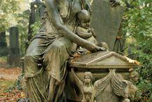 cemetery art... beautiful n comforting..