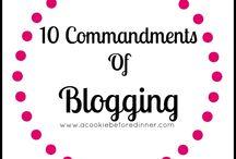 Blogging Ideas... / by Cheryl Warren