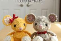 Crochet mice