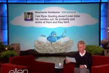 """Ellen / Things from the """"Ellen Degeneres"""" Show that crack me up (which is everything)."""