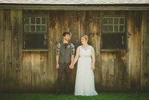 Corrine & Joe's Wedding / A whimsical DIY rustic chic barn wedding in June! / by Paisley Events