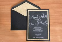 You're Invited / These ideas will help add a splash of personality into your wedding stationery and invitations.