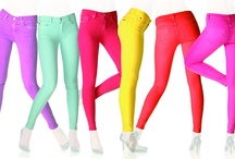 Coloured Jeans / How to Wear Them? It can easily be a hot mess or just simply hot!