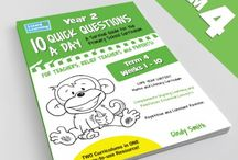 Lizard Learning 10 Quick Questions A Day-Year 2 / Lizard Learning is changing the way primary educators and parents help our children learn and grow using simple tools and methods which cut down the time it takes for busy teachers and educators to cover the curriculum gamut every day.  Created by real teachers using real classroom secrets and techniques our books and variety of resources infuse a renewed sense of fun back into teaching which builds your child's confidence and retention skills to succeed in the primary school years.