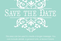 We've set the date! / Wedding plans & ideas. / by Charlene J Hendry
