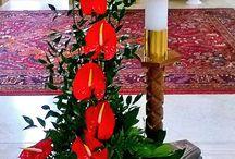 Kostol kvety