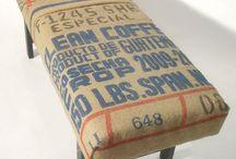 Coffee bean bag DYI
