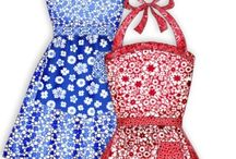 Aprons / by Cuddly Couture