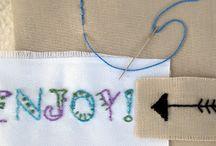 Decorative stitch,  Zierstich