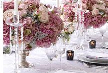 plum/fuchsia wedding