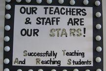 staff appreciation / by Jill Nylen