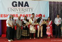 Gna university organized fresher's party. / Gna university organized fresher's party.