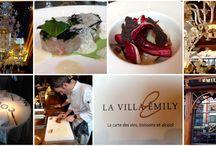 La Villa Emily / Restaurant La Villa Emily à Bruxelles : http://www.passiongastronomie.be/2016/02/la-villa-emily/ #Restaurant #LaVillaEmily #MathieuJacri