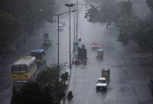 Rainfall in Hyderabad / Keep praying for Hyderabad .