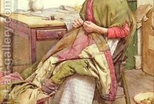 Quilting / love to work with my hands ....... / by Gloria Bean