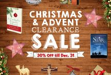 CHRISTMAS AND ADVENT CLEARANCE SALE / 0