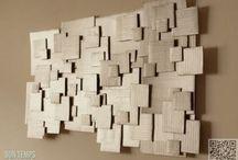 Hout en Karton (Wood and Cardboard) / Leuke dingen te maken met hout en karton