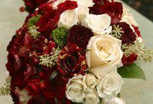 Bruidsboeket Rood/ Bridal bouquet red