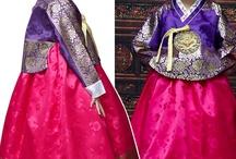 korean dress Hanbok / by Nuriya Khegay