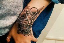 tetování ruka