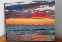 Sunsets / Original photography by Kathy Ives taken in Prince Edward Island.