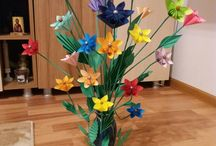 "Paper flowers Made by me ""Sorin SCRIECIU"""