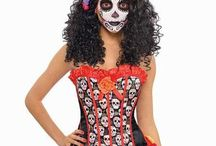 Day Of Dead Costumes & Costume Accessories