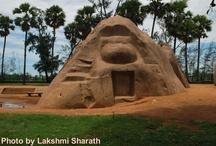Mahabalipuram- God of Stones / Mahabalipuram- God of Stone, Photos by Lakshmi Sharath