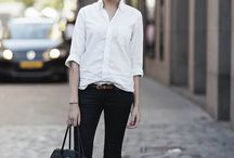 white shirt inspirations