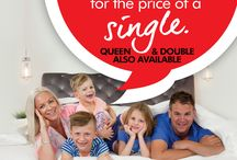 JULY 2017 - King Mattress for the Price of a Single