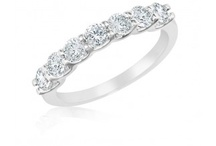 Diamond Bands / Wedding bands, engagement bands, and more. PureGrownDiamonds.com