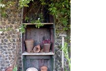 Gardening / Small patio