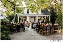 Best Charlotte Outdoor Wedding Venues / Cass Bradley's favorite NC elegant outdoor wedding venues in and around Charlotte, NC