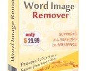 Image remover software / If you need image remover software to remove images contained in word documents than Word Image Remover can be a great choice for you. This tool is very useful in removing images to shrink file size to make them attachable. It can also be used as a tool to enhance readability by removing images. Tool lowers page count considerably by removing image. Tool is available at a very reasonable price.