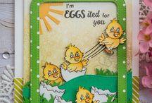 EGGstasy Stamp Set