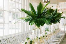 Florals of greens
