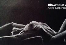 Tekeningen Astrid Kasbergen / Eigen werk; Krabbeltjes, schetsen en tekeningen