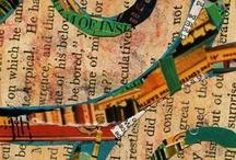 Art Journaling, Mixed Media & Zentangle