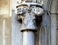 Architecture ornament fragment
