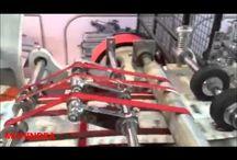 High Speed Paper Bag Making Machine / medicine paper cover making machin...