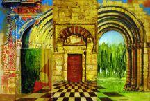 Puertas y naturaleza