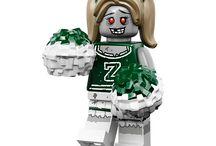 Lego Minifigure Monsters