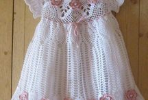 Crochet baby and children clothes
