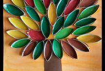 Les a listy na podzim