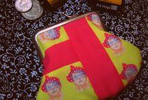 Ambrosia Coin purses/ Monederos / Venta de Monederos hechos con diseño divertidos, y telas exlusivas