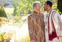 Same-Sex Indian Wedding :: Matt & Harshal :: Atwood Ranch / Matt & Harshal's same-sex Indian Wedding at Atwood Ranch. All photos © 2015 Arrowood Photography. http://www.arrowoodphotography.com