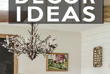 Farmhouse Decor / Ideas for decorating our next home.