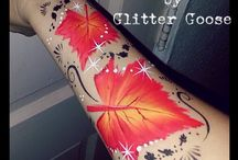 painting tattoo